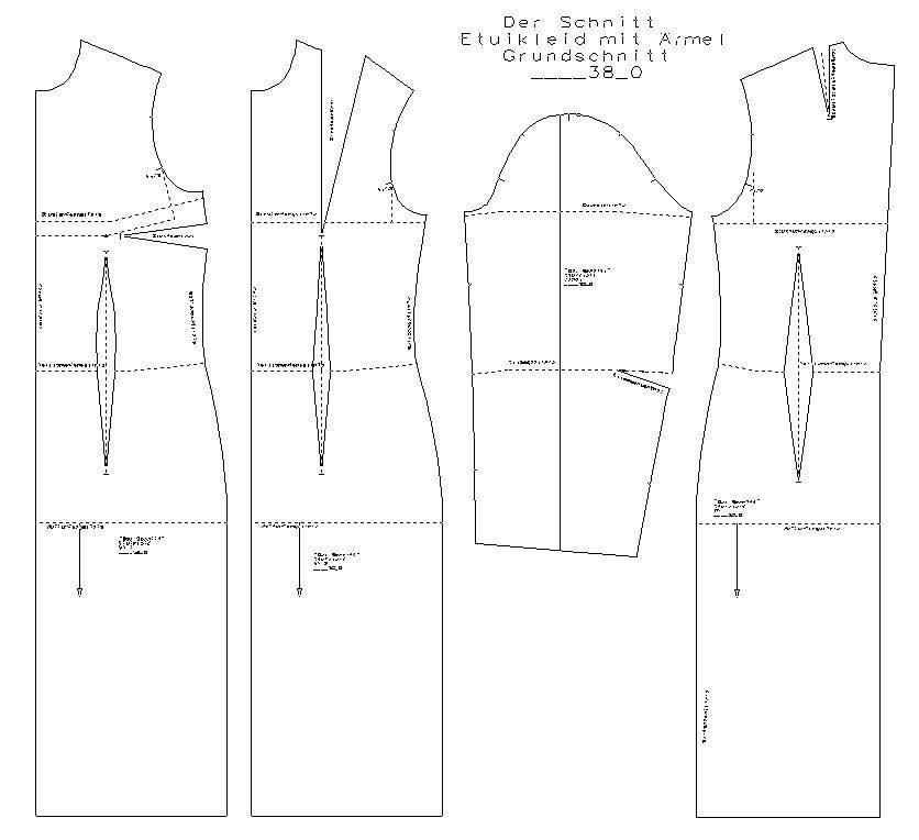 Workshop: Modellschnittentwicklung Kleider @ Die Schneidermeisterei